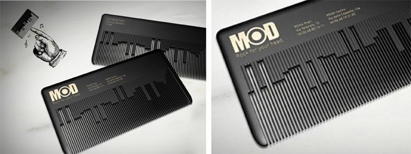 MOD Hair -- musical comb