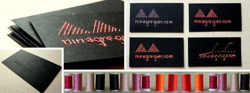 nina business card