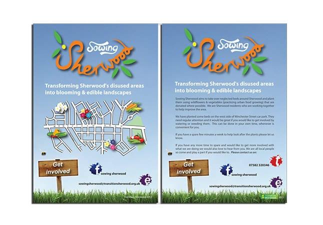 Sherwood Community Pro Bono Graphic Design