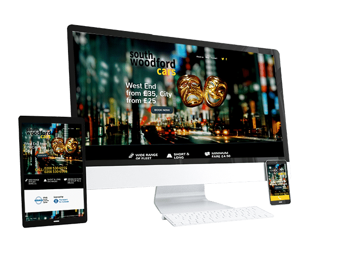 South Woodford Cars - Portfolio Web Design