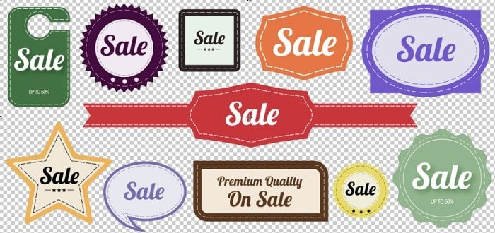 FREE DOWNLOADS: Vintage Style Sale Graphics