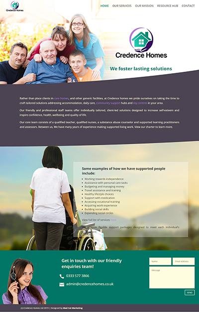 Sutton Castings - Portfolio Web Design